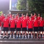 Vorbereitung Jugendolympiade in Berlin 2010